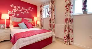 Bedroom Awesome Decorate Your Room How To Living Red And White