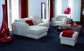 stylish inspiration 8 red black and white living room decorating