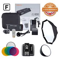 100 Fuji Studio Details About Godox Witstro AD200 Film Kit For Location Photography And Photography