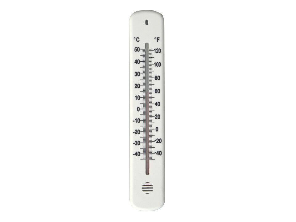 Growing Patch Plastic Wall Thermometer 215mm