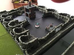 3d Dungeon Tiles Dwarven Forge by Dwarven Forge Dwarven Forge Le Donjon En 3 Dimensions Rpg