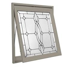 Hy-Lite 28.5 In. X 28.5 In. Decorative Glass Awning Vinyl Window ... Windows Awning Premium Stock Alinum Clad Vinyl Awnings At Lowes Home Depot Full Size Of Jeld Wen Window U Awnings For Bay Windows Chrissmith Images The Decorative Glass Shop At Lowescom Difference Between Casement And Tafco Windows 63 In X 225 Jalousiepicture Doors Double Replacement Gorgeous