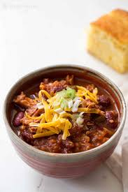 Paleo Pumpkin Chili Slow Cooker by Turkey Chili With Leftover Turkey Recipe Simplyrecipes Com