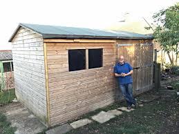 new shed and chicken run gardengeek net