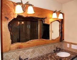 Rustic Bathroom Lighting Ideas by Endearing 60 Bathroom Light Fixtures Rustic Design Inspiration Of