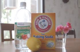 Slow Draining Bathroom Sink Vinegar by Baking Soda Kitchen Sink