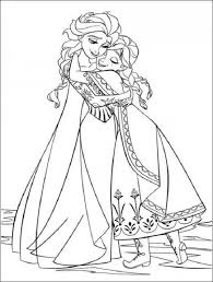 Disney Junior Frozen Coloring Pages