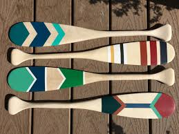 Decorative Oars And Paddles Canada by September 24th Colourful Canadiana Painted Paddle U2014 Outside
