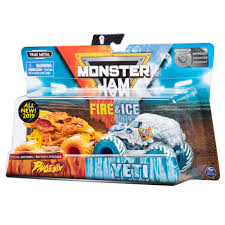 99 Monster Trucks In Phoenix Jam Fire Ice 2 Pack Vs Yeti Truck Die
