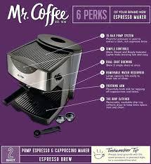 Mr Coffee Pump Espresso Maker Machine Price How To Use