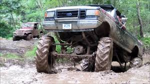 100 Ford Mud Trucks MEGA MUD TRUCKS WITH WADE CODY JON JESSE AT THE BOG YouTube