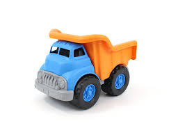 100 Powerblock Trucks OrangeBlue 10 X 75 X 675 Green Toys Dump Truck Vehicle