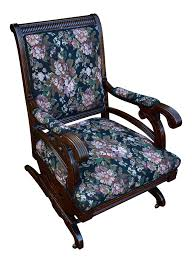 19th Century Antique Victorian Eastlake Mahogany Rocking Chair New ... Vintage Exposed Wood Rocking Chair With Upholstered Seat By Antique Open Arm Rocking Chair Upholstered Seat And Back Summer Days Wooden Mahogany Lincoln Rocker Sell 6 Needlepoint Covers Upholstery From Vulcanlyric Amazoncom Fniture Of America Betty Oak With Cane And Back Ebth Hcom Lounger Relaxing Padded Love Shop Quality Hospality Rattan Legacy Cushioned Outdoor Interior Design