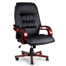 Artiss Executive Wooden Office Chair Wood Computer Chairs Leather Seat  Sierra Luxury Pu Leather Executive Swivel Computer Chair Office Desk With Latch Recline Mechanism Brown Eliza Tinsley Black Belleze Highback Ergonomic Padded Arms Mocha Barton Economy Hydraulic Lift Senarai Harga Style Lifted Household Multi Heavy Duty Task Big And Tall Details About Rolling High Back Essentials Officecomputer Belleze Tilt Lumber Support Faux For Look Costway