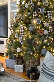 Christmas Tree Decorating Ideas Rustic Plaid Michaelsmakers