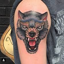 Fresh Wolf Tattoo Designs And Meanings 58 On Clock With