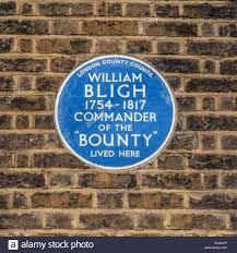 100 Bligh House Blue Plaque Outside William House In Lambeth South London