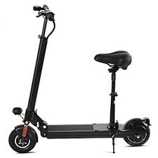 Asatr Swagger Foldable Electric Scooter With Retractable Seat Lightweight Adult Motorized Bike Adjustable City Urban