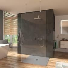 duschwand glas trennwand duschabtrennung für dusche