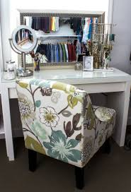 Ikea Malm White Office Desk by Convert An Ikea Dressing Table Into A Makeup Vanity Makes