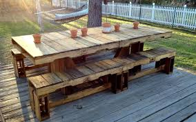 Image Of Pallet Outdoor Furniture For Sale