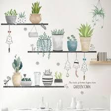 bonsai wandtattoo wandsticker wandaufkleber wanddeko für wohnzimmer