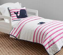htons whale toddler quilt pottery barn kids
