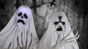 Halloween Club La Mirada Ca by Life Sized Ghost Trio Animated Prop Now At Halloween Club Youtube