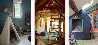 cabane dans chambre 3 idées déco pour une chambre d enfant maisons et jardins