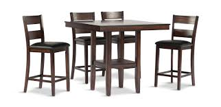 Pendleton Dining Table With 4 Counter Stools