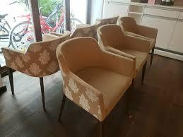 4x hochwertige stühle mobitec beige esszimmer küche