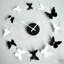 I Found New Art Modern Design Home Decor DIY 12 Butterfly Day Time Wall Clock Clocks On Wish Check It Out