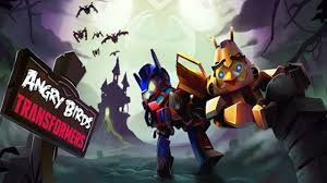 Transformers Decepticons Pumpkin Stencils by Angry Birds Transformers Nemesis Prime Unlocked Halloween Update