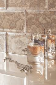 Bathroom Mosaic Mirror Tiles by Wall Decor Mirrored Tile Backsplash Peel And Stick Tiles