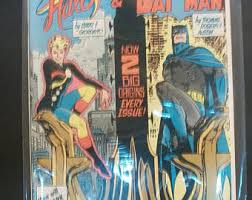 Secret Origins 6 Starring Halo The Golden Age Batman VG Very Fine Unread Vintage DC Comic Book 1986