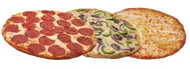 Gluten Free Pizza Delivery Menu