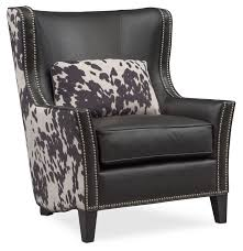 Santa Fe Accent Chair - Cowhide | Value City Furniture And Mattresses