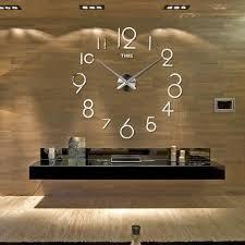 Horloge Mural 3d Achat Vente Pas Cher Beau Decoration Maison Interieur Avec Horloge Murale Diametre 40 Cm
