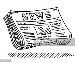 28 Collection Of Newspaper Clipart Transparent Background