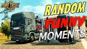 Euro Truck Simulator 2 Multiplayer Random & Funny Moments - YouTube