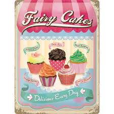 50er Retro Fairy Cakes