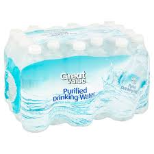 Great Value Purified Drinking Water 169 Fl Oz 24 Count
