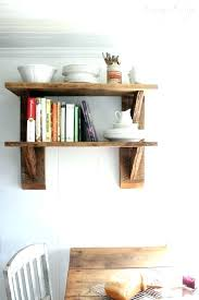 Reclaimed Wood Kitchen Shelves Rustic Chestnut