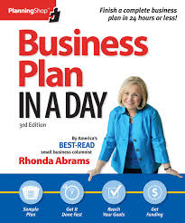 Amazon.com: Business Plan In A Day (Planning Shop) (9781933895376 ...