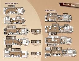 Jayco Designer Fifth Wheel Floor Plans by 2011 Dutchmen Komfort Fifth Wheels And Travel Trailers