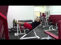 Captains Chair Leg Raise Bodybuilding by Incline Bench Leg Raise Karin Hareketi Karın Abs Abdominal