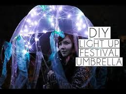 Diy Jellyfish Costume Tutorial 13 by Diy Light Up Jellyfish Coachella Festival Umbrella Paige Joanna