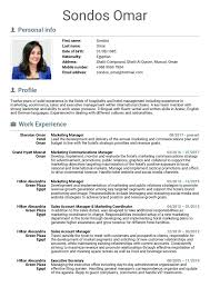 Account Manager Resume Sample National