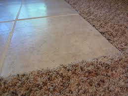ceramic tile to carpet transition carpet