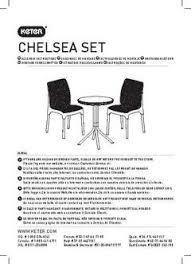 chelsea outdoor bistro set charcoal keter target